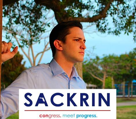 Adam Sackrin is a progressive Democrat fighting to represent the people of Florida's 27th in Congress. #ActOnClimate #GetMoneyOut. Check out his website for more information on his platform http://www.AdamSackrin.com