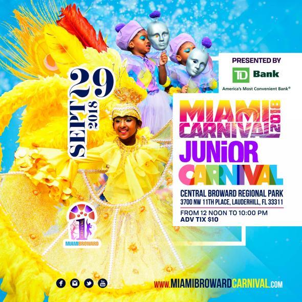 Miami Jr. Carnival Flyer